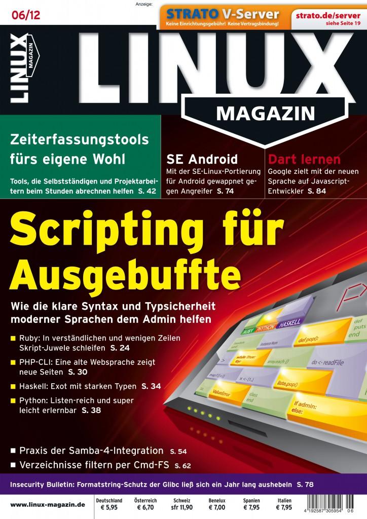 Linux Magazin Ausgabe Juni 2012