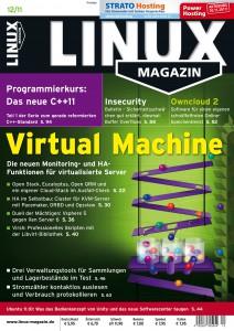 Linux Magazin Ausgabe Dezember 2011
