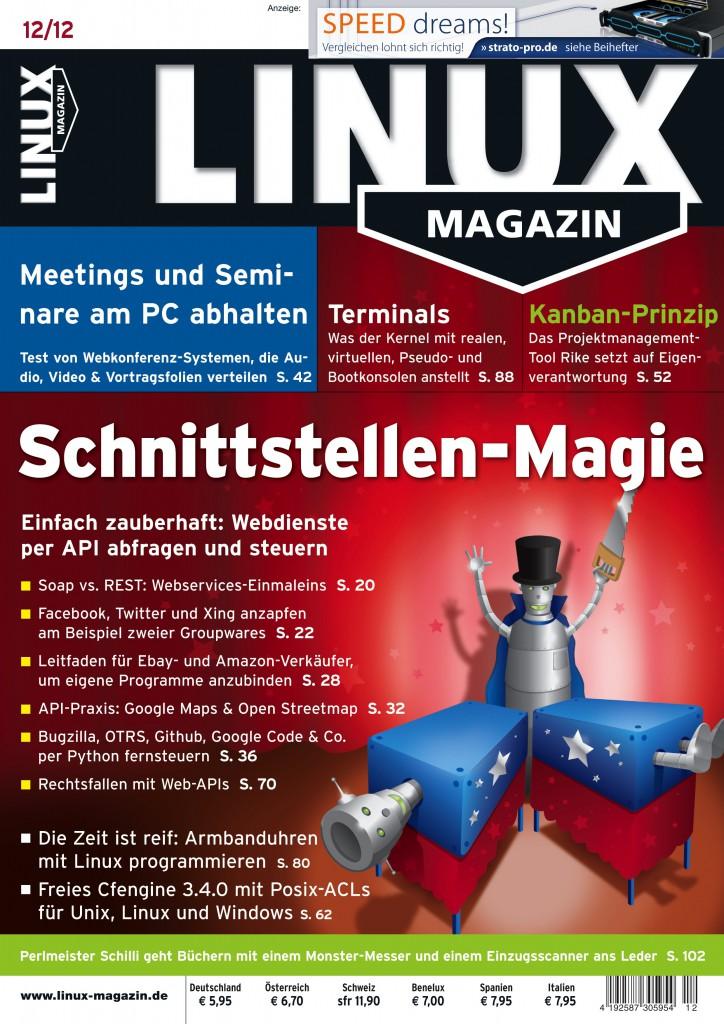 Linux Magazin Ausgabe Dezember 2012