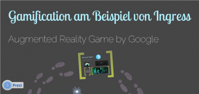 Gamification am Beispiel von Ingress