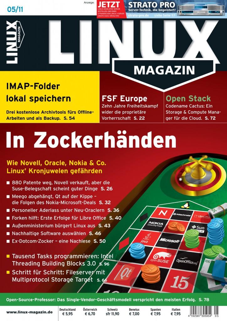 Linux Magazin Ausgabe Mai 2011