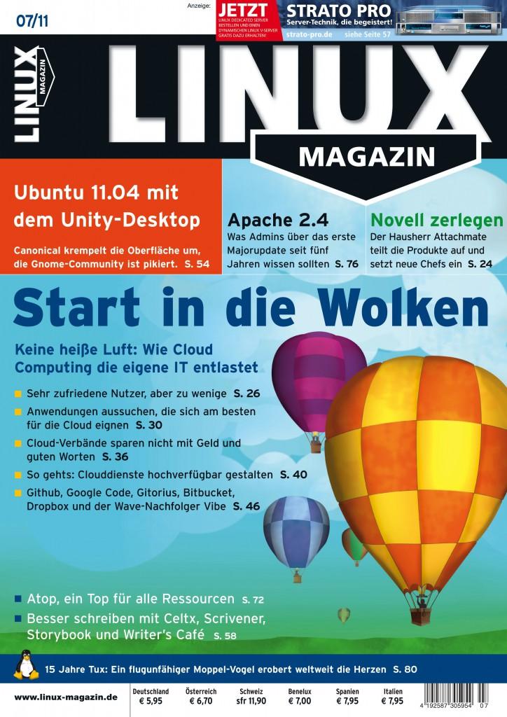 Linux Magazin Ausgabe Juli 2011