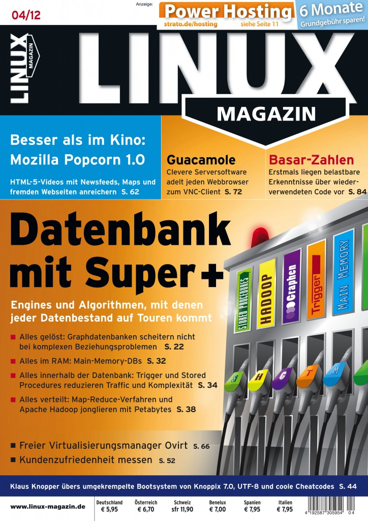 Linux Magazin Ausgabe April 2012