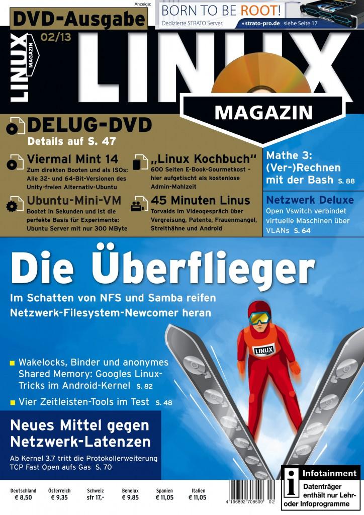 Linux Magazin Ausgabe Februar 2013