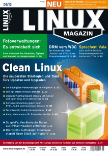 Linux Magazin Ausgabe September 2013