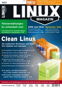 Linux Magazin Ausgabe September 2013