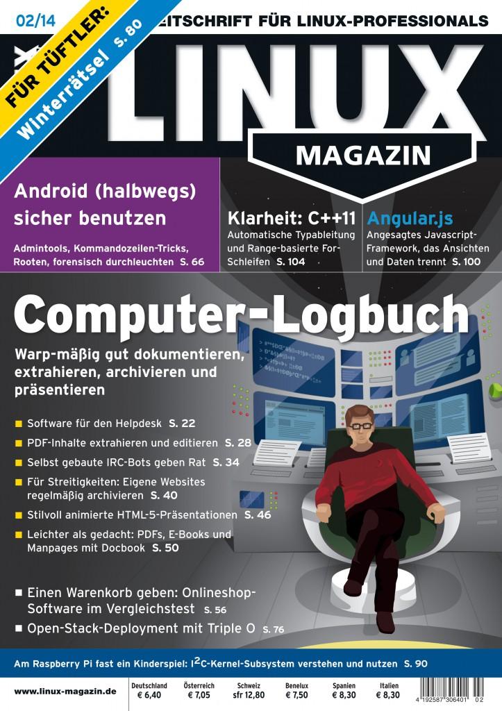 Linux Magazin Ausgabe Februar 2014