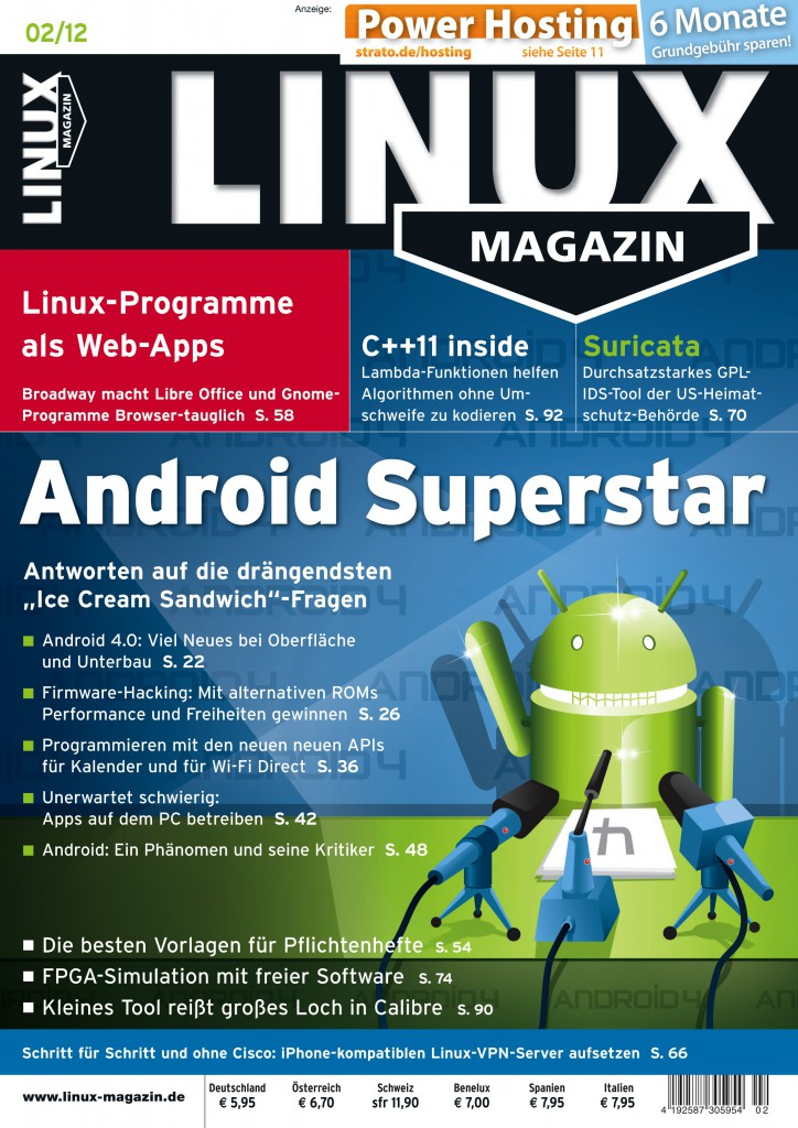 Linux Magazin Ausgabe April 2014