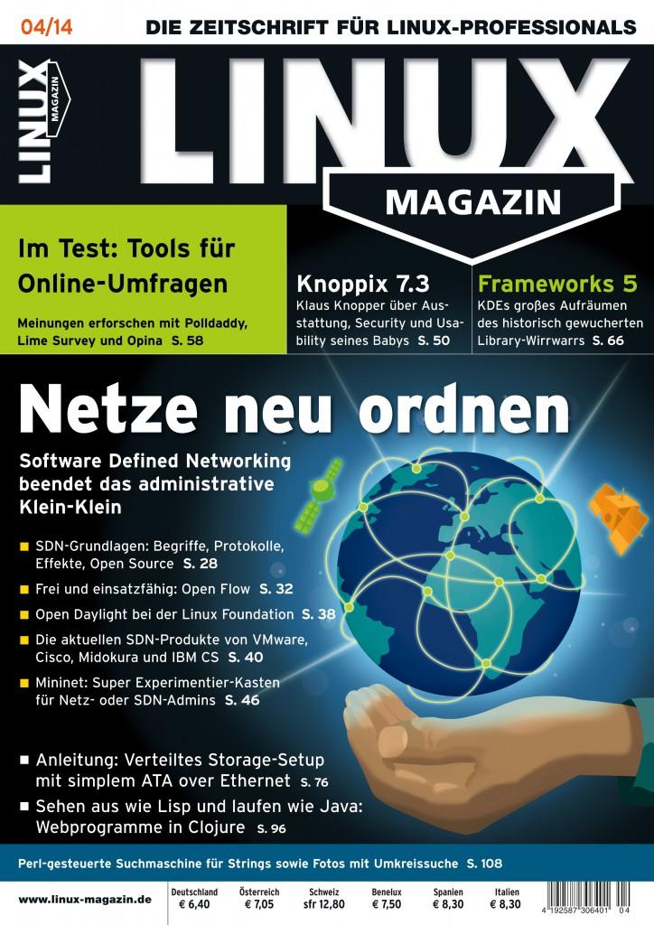 Linux Magazin Ausgabe April 2014