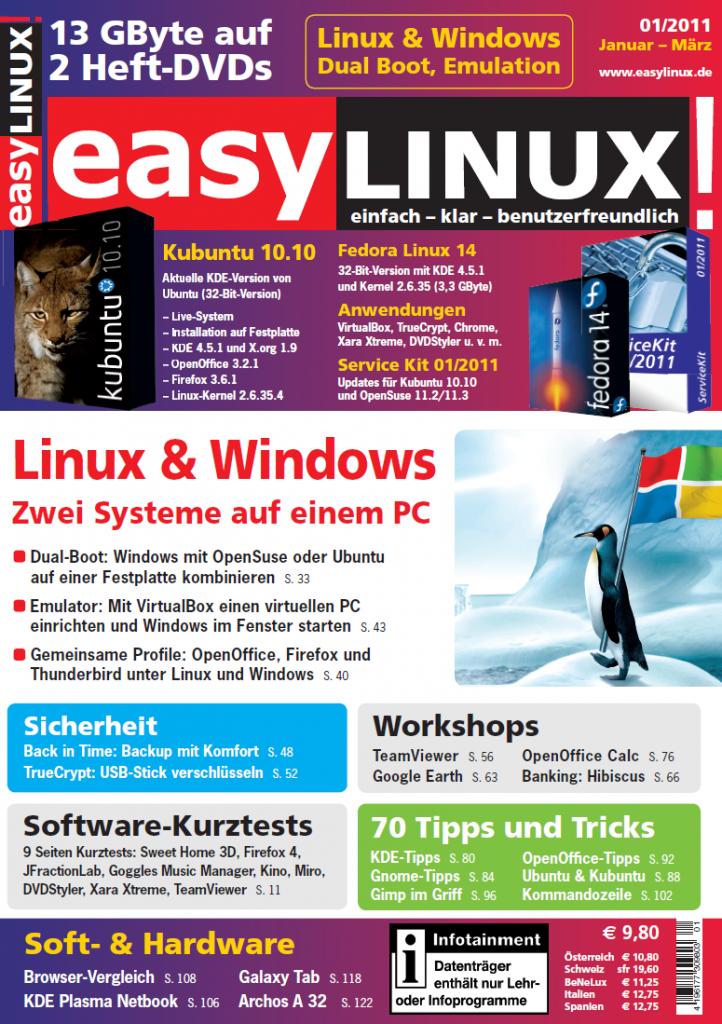 Easy Linux - Ausgabe 01 2011