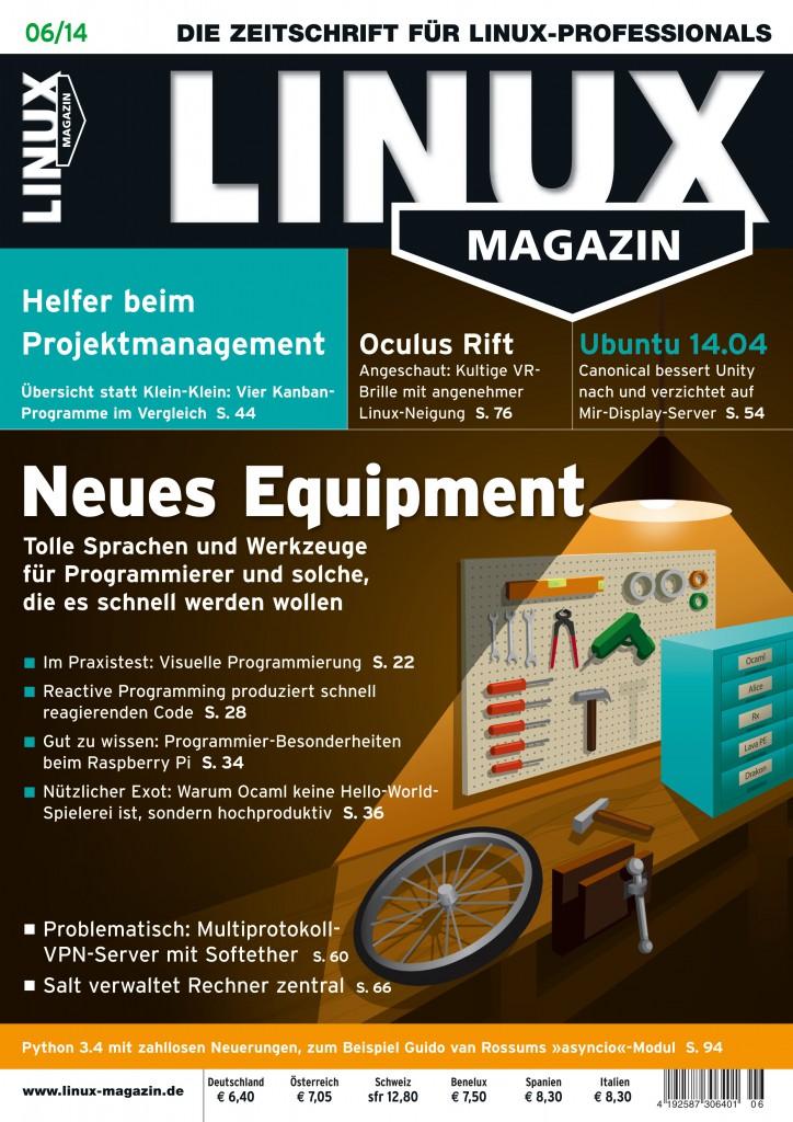 Linux Magazin Ausgabe Juni 2014
