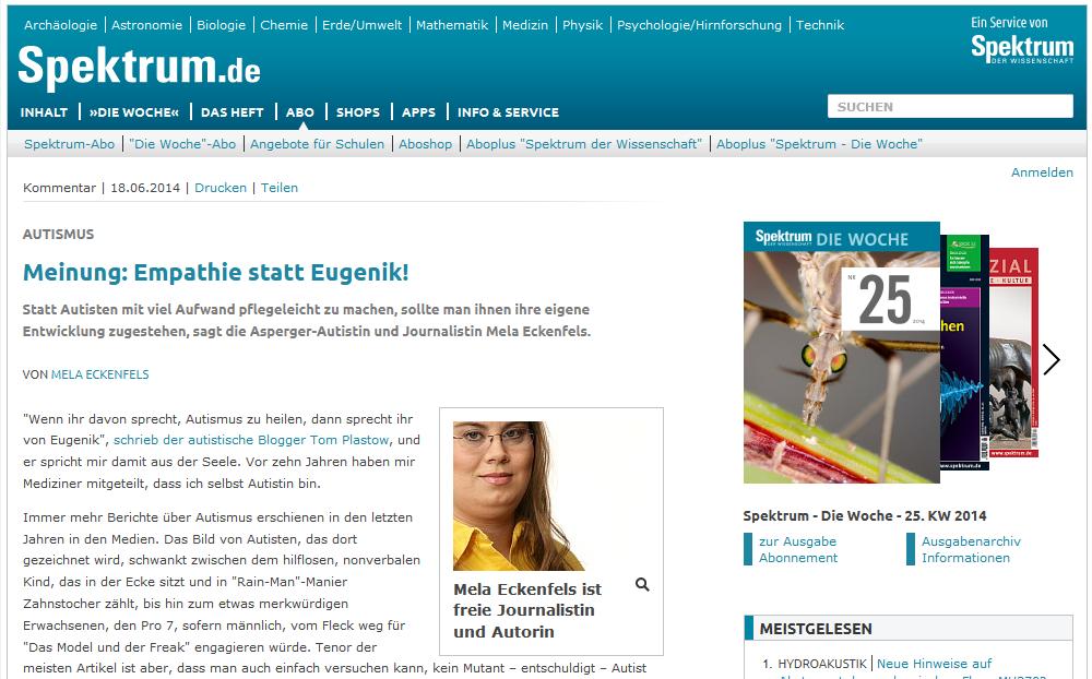 Spektrum.de - Autismus- Meinung- Empathie statt Eugenik! - Spektrum.de 2014-06-19 00-11-16
