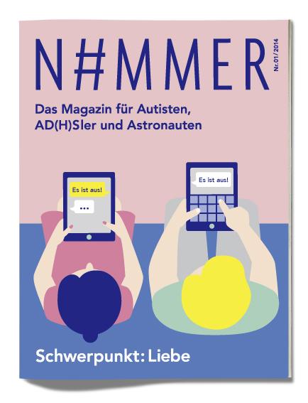 Cover - N#MMER Magazin, Ausgabe 01/2014, Schwerpunkt: Liebe
