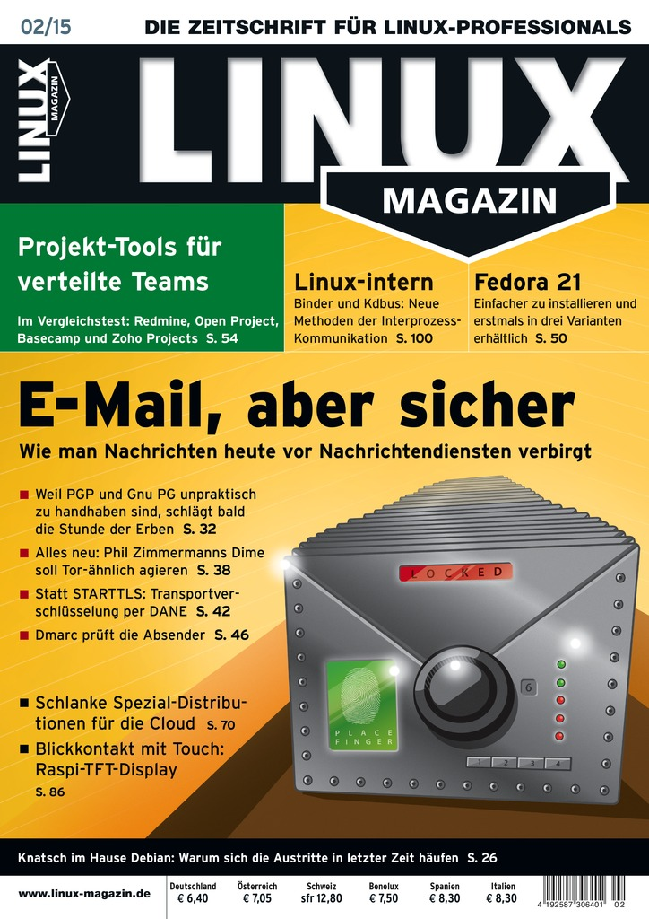 Cover Linux Magazin 02/2015
