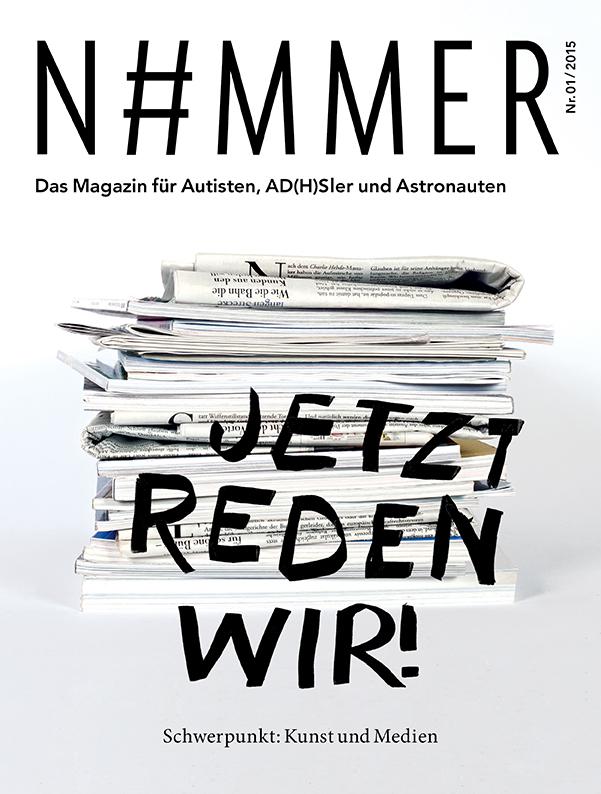 N#mmer Magazin - Cover - Heft 2 - 01/2015 - Jetzt reden wir!